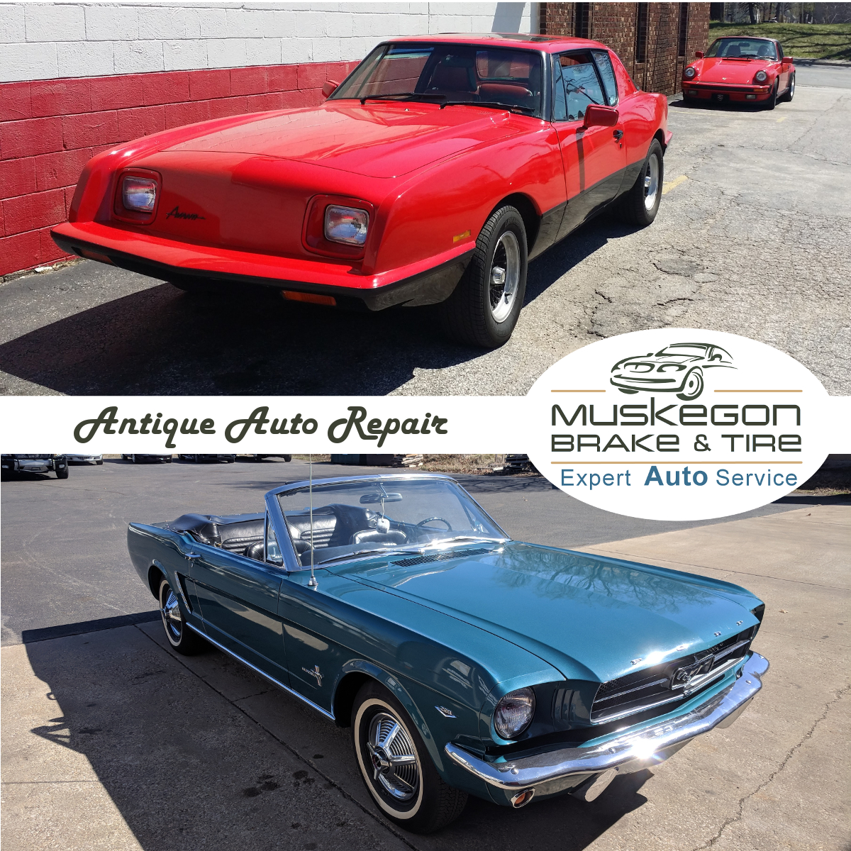 Antique Auto Repair and Maintenance at Muskegon Brake & Tire